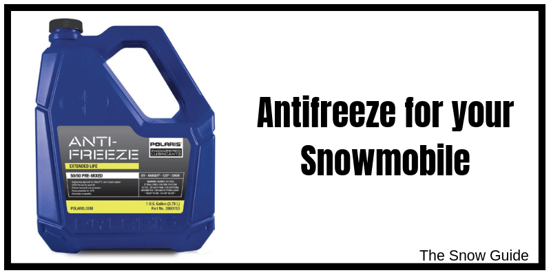 Snowmobile Antifreeze and Coolant