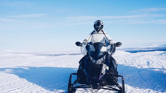Air Filter in Snowmobile